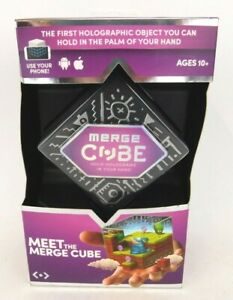 Merge Cube Hold Holograms in Your Hand Virtual Game Toy IOS Android Tablet NIB