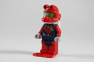 LEGO® City Minifigure Scuba Diver Female Red Fins Airtanks Head Gear