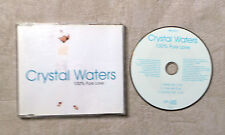 "CD AUDIO / CRYSTAL WATERS ""100% PURE LOVE"" CD MAXI 1994 POLYGRAM 858 667-2 3T"