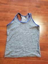 Old Navy Activewear Girl Shirt size Plus XXL 16 Performance Tank Purple Black