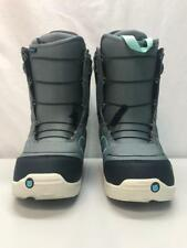 Burton Ambush Snowboard Boots Stoned Grey and Blue Size 8 New