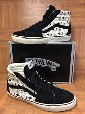 EUC🔥 VANS Sk8-Hi Vault LX Uniphant Sz 13 Skateboarding Shoes Black Turtledove