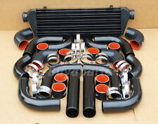12X 2.5 inch BLACK/RED COUPLER INTERCOOLER+PIPING KIT ACURA INTEGRA RSX TSX NSX