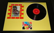 Elvis Costello Signed Framed 1979 Armed Forces Record Album Display