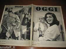 RIVISTA OGGI 1955/50=ANNA MARIA PIERANGELI=TONY CURTIS=JANET LEIGH=
