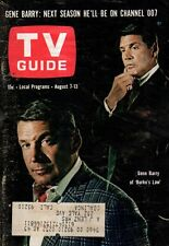 1965 TV Guide August 7 Daniel Boone; Gene  Barry of Burke's Law; Al Hirt; Jarvis
