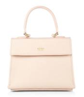 Mateo Elizabeth Mini Pink Leather Crossbody Women's Handbag 87812