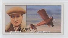 1936 Carreras Famous Airmen & Airwomen Tobacco Base #9 Gustav Hamel Card 0a6