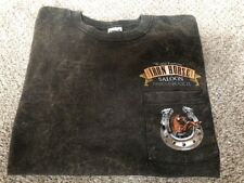"Mens S Unique Color  ""World Famous"" Iron Horse Saloon Ormond Beach FL T-Shirt"
