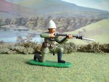 Armies in plastic Boxer rebellion German soldier kneeling firing 1:32 painted