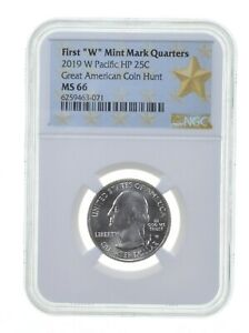 2019 W Guam War In the Pacific NP Quarter 25c NGC MS 66 West Point