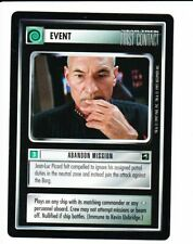 STAR TREK CCG First Contact  ABANDON MISSION