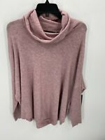 Cyrus Women's Sweater Size M Pink Turtleneck Long Sleeve Pullover New with Tags
