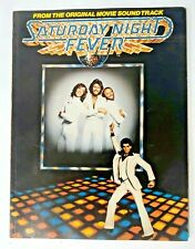 Vintage 1977 Saturday Night Fever From The Original Movie Soundtrack Song Book