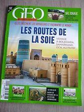 REVUE  GEO  N° 499  SEPTEMBRE  2020  /  LES  ROUTES  DE  LA  SOIE