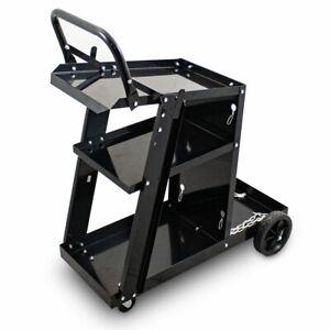 BITUXX Mobiler Werkstattwagen Schweißerwagen Schweißwagen Gasflaschenwagen