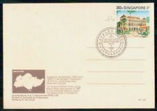 Mayfairstamps SINGAPORE EVENT 1991 POSTCARD RAFFLES HOTEL REOPENING wwk41329
