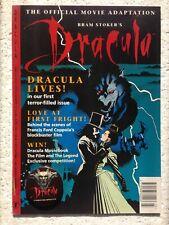 Bram Stoker's DRACULA  UK Issue 1 1993 + MOVIE BADGE Gift DARK HORSE Comics MINT