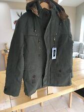 AFS ZDJP mens Winter Hooded Parka Style Coat Size XXL