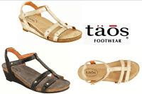 Sandals wedge comfort leather - Taos Shoes Wanderer