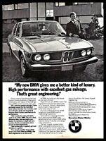 1974 BMW Vintage Car Photo AD