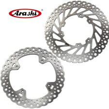 For HONDA CR250R CR250E 2002 - 2008 CR R / E 250 Front Rear Brake Disc Rotors