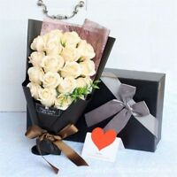 Artificial Rose Bouquet Scented 18pcs Valentine's Day Birthday Gift Decoration