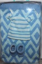 TOBY NIP Not Your Grandma's Blanket NYGB Baby Boy Gift Set Blanket Hat Booties