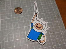 ADVENTURE TIME GLOSSY SWORD DRAWN Sticker / Decal Skateboard Phone Luggage NEW