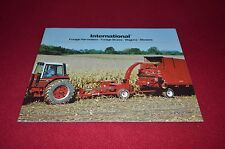 International Harvester Forage Harvesters Wagons 1981 Dealer's Brochure DCPA6