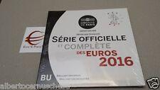 2016 8 monete 3,88 euro fdc FRANCIA BU France KMS Frankreich França ufficiale