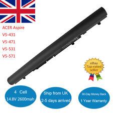 Battery Fo PACKARD BELL EASYNOTE TE69 TE69BM TE69HW TE69KB MS2384 Acer Aspire V5