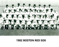 1982 BOSTON RED SOX 8X10 TEAM PHOTO BASEBALL PICTURE MLB