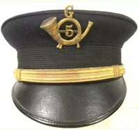 Spanish American War US Army M1902 Officer Bell Cap -REPLICA (WITH OUT BADGE)