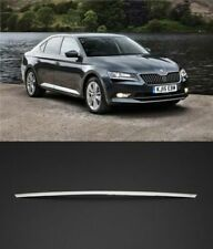 2015Up Skoda Superb III 3V SD Chrome Rear Trunk Tailgate Boot Grab Trim S.STELL