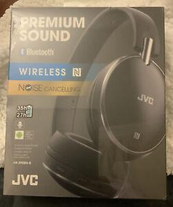 JVC HA-S90BN-B-E Wireless Bluetooth Noise-Cancelling Headphones - Black