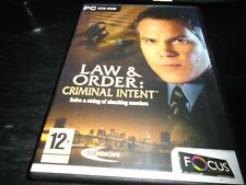 Law and Order: Criminal Intent   Pc game