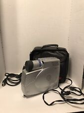 Optoma EzPro718 DLP Projector Portable Leather Carry Case And Cables Make Offers