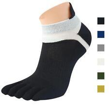 1 Pair Men Casual Socks Low Mesh Meias Sports Running Five Finger Toe Socks Hot