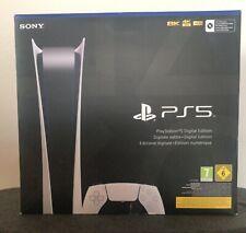 Sony ps5 Digital Edition consola de juegos-blanco *** nuevo ***