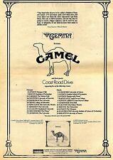Werbung für Camel