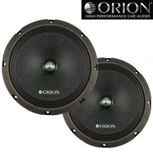 """Orion CT-M8 8"""" High Efficiency Midrange Speakers 900W Max Cobalt CTM8 (Pair)"""