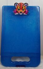 vtg Lisa Frank rainbow tiger blue clipboad storage case Be Creative!