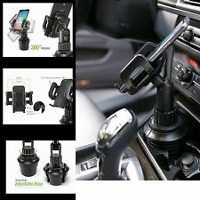 Car Cup Holder Stand Mount for IPhone 7 8 PLUS Smart Phone Adjustable Base Wide