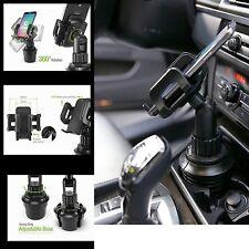 Car Cup Holder Mount for Iphone 7 6s PLUS Smart Phone Adjustable Base Wide Kit