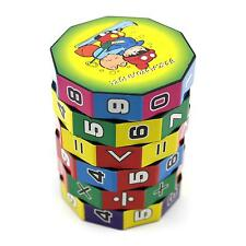 Children Kids Baby Gift Cylindrical Shape Colorful Educational Learning Math Toy