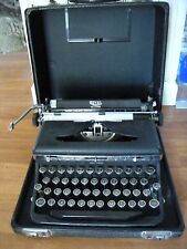 Rare 1936 Royal Touch Control De Luxe Portable Typewriter with Case