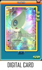 Pokemon TCG ONLINE Celebi XY111 (DIGITAL CARD) Black Star Promo Generations