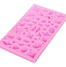 JEWELS/GEMS SILICONE MOULD/MOLD-CABOCHONS-JEWELLERY MOULDS-EPOXY RESIN SHAKER