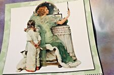 Norman Rockwell Illustrated 12 Month Calendar, 2004 Free Shipping!